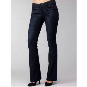 Paige Kennedy Boot Cut Jeans Dark Wash
